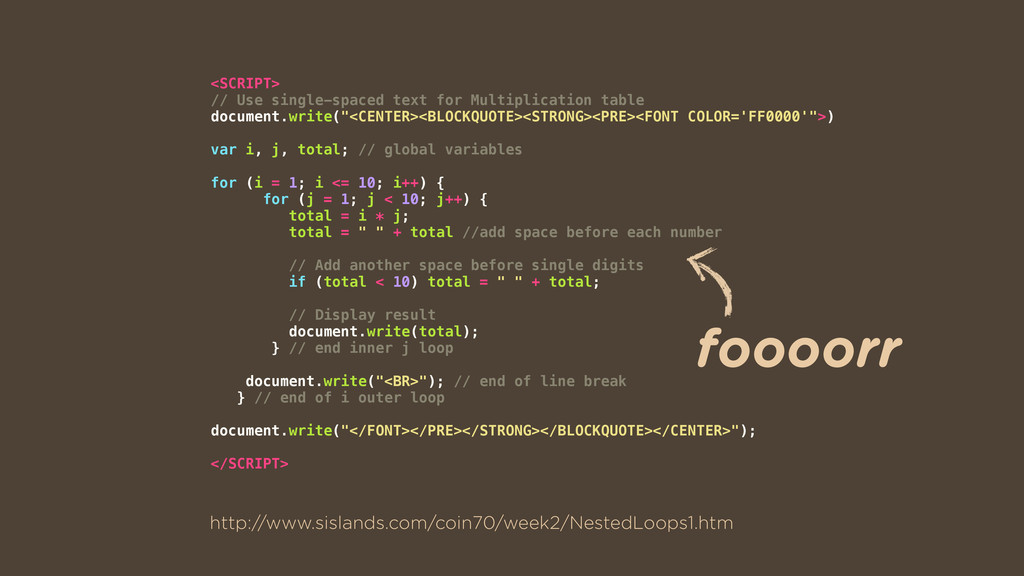 <SCRIPT> // Use single-spaced text for Multipli...