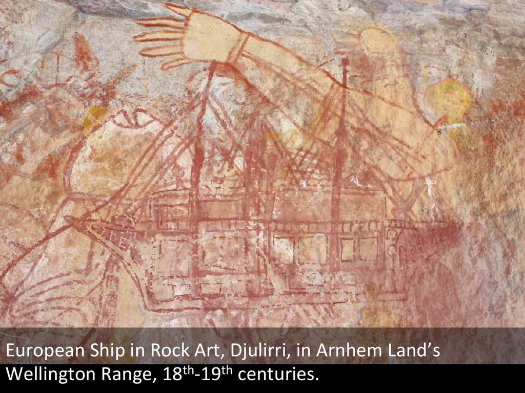 European(Ship(in(Rock(Art,(Djulirri,(in(Arnhem(...