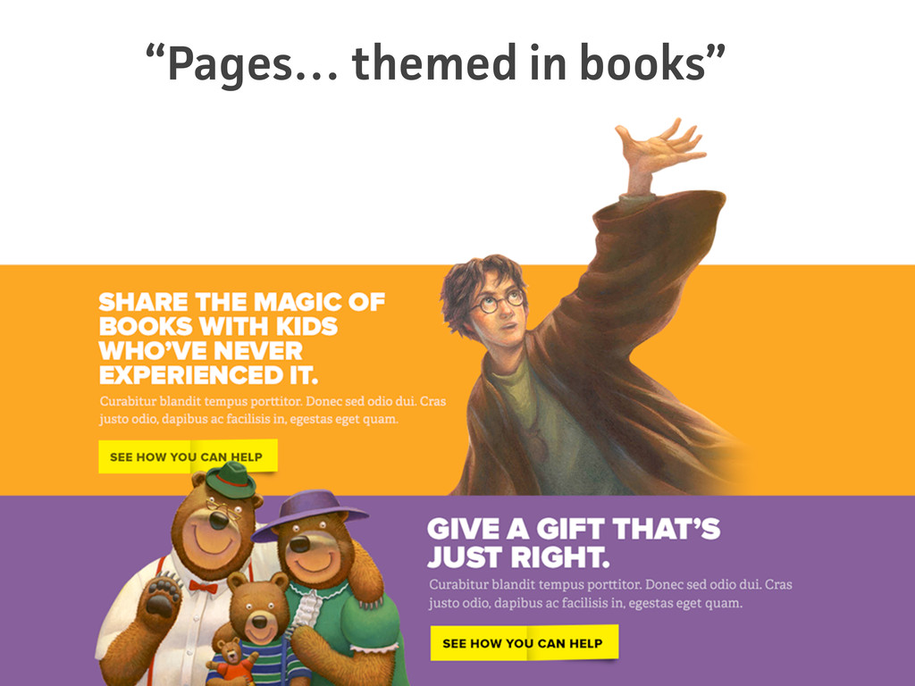 """Pages… themed in books"""