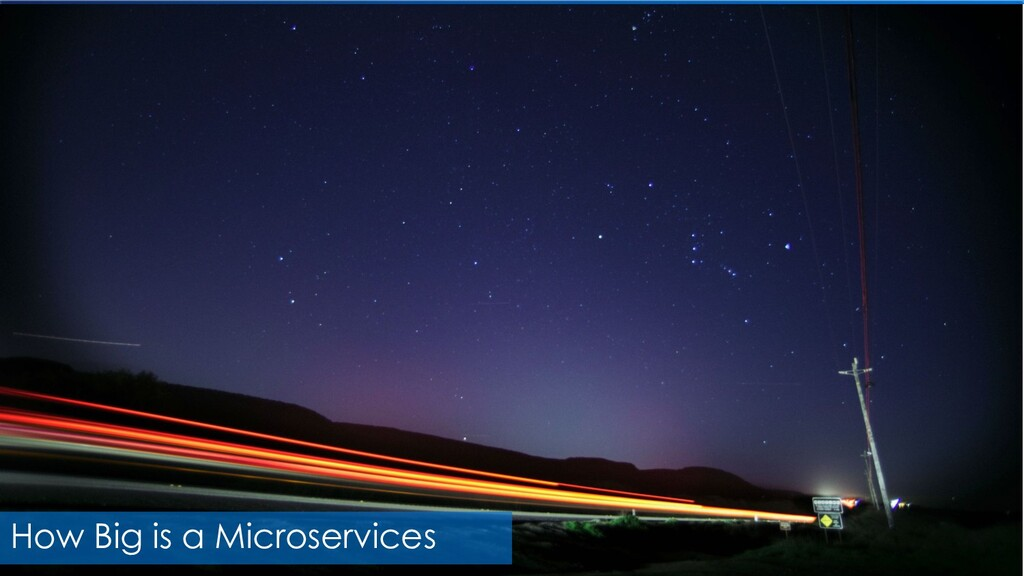 How Big is a Microservices