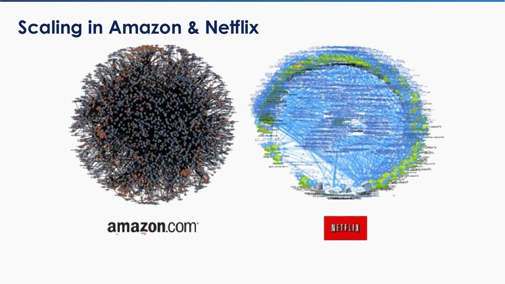Scaling in Amazon & Netflix