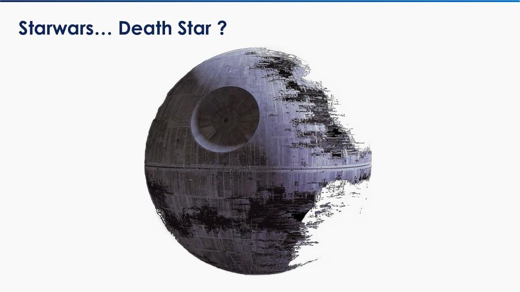 Starwars… Death Star ?