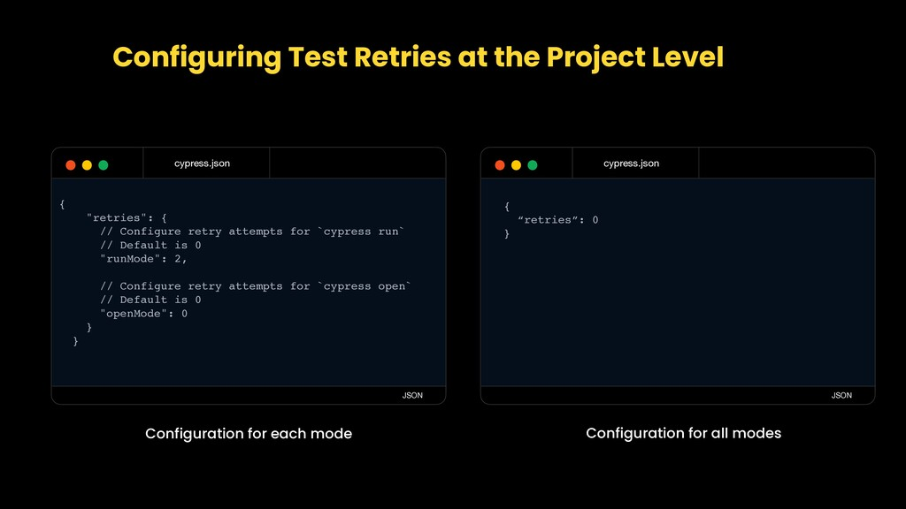 Configuring Test Retries at the Project Level c...