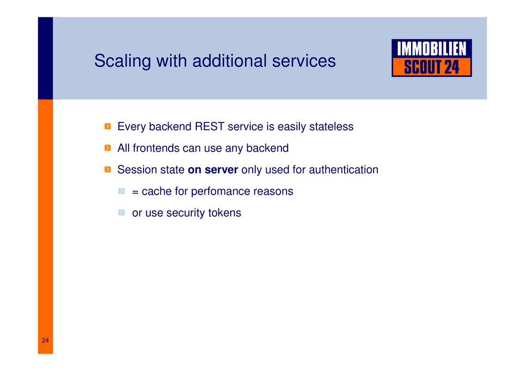 24 Scaling with additional services Every backe...