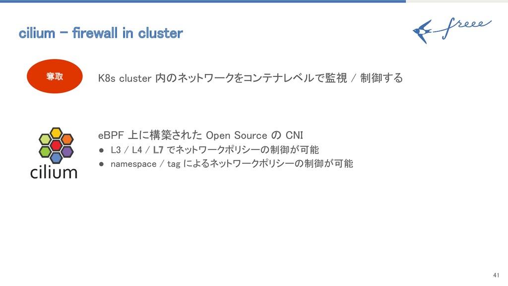 41 奪取 cilium - firewall in cluster K8s clust...