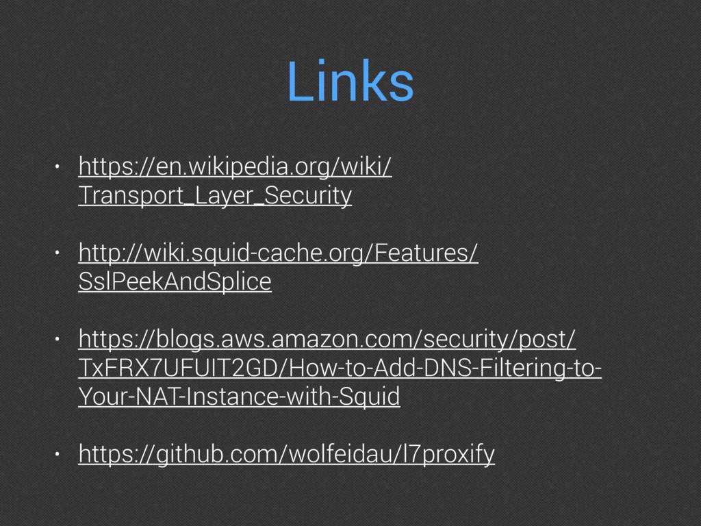 Links • https://en.wikipedia.org/wiki/ Transpor...