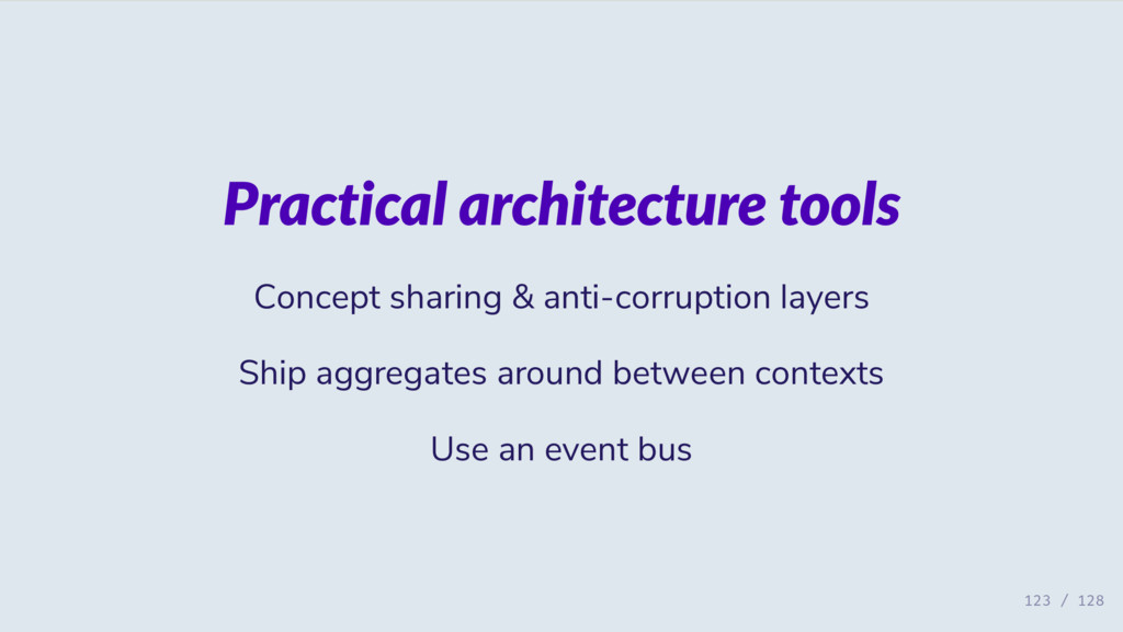 Practical architecture tools Concept sharing & ...