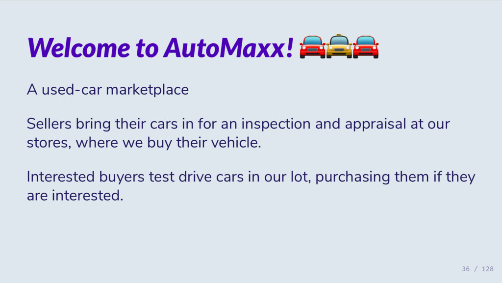 Welcome to AutoMaxx! A used-car marketplace Sel...