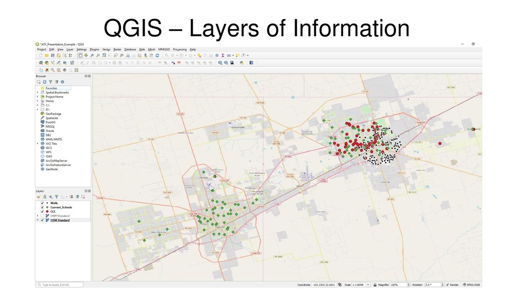 QGIS – Layers of Information