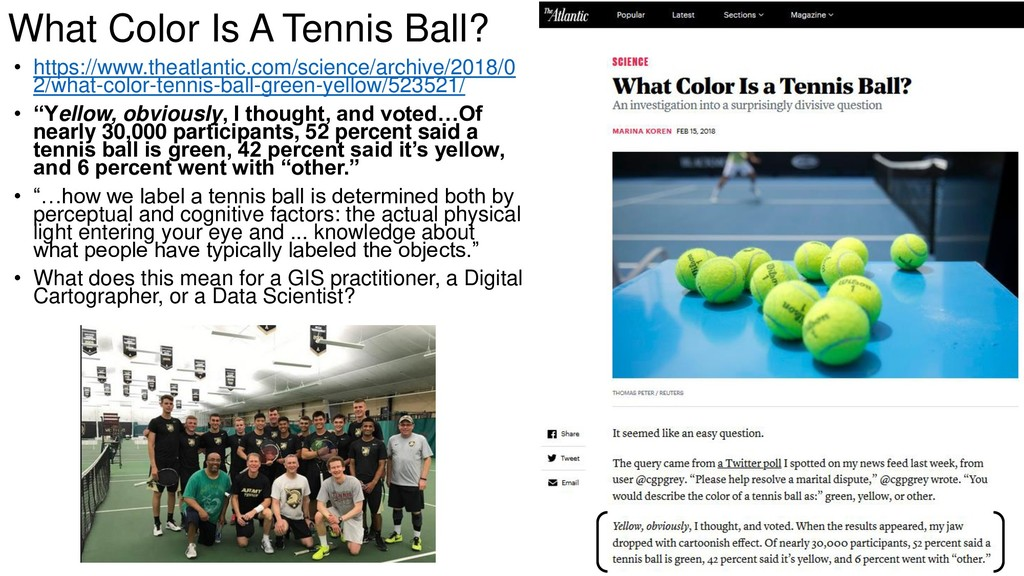 What Color Is A Tennis Ball? • https://www.thea...