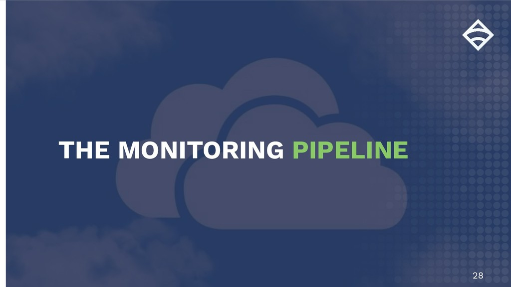 28 THE MONITORING PIPELINE