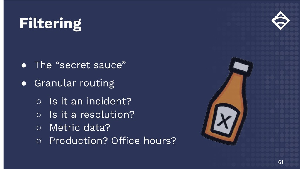 """● The """"secret sauce"""" ● Granular routing ○ Is it..."""