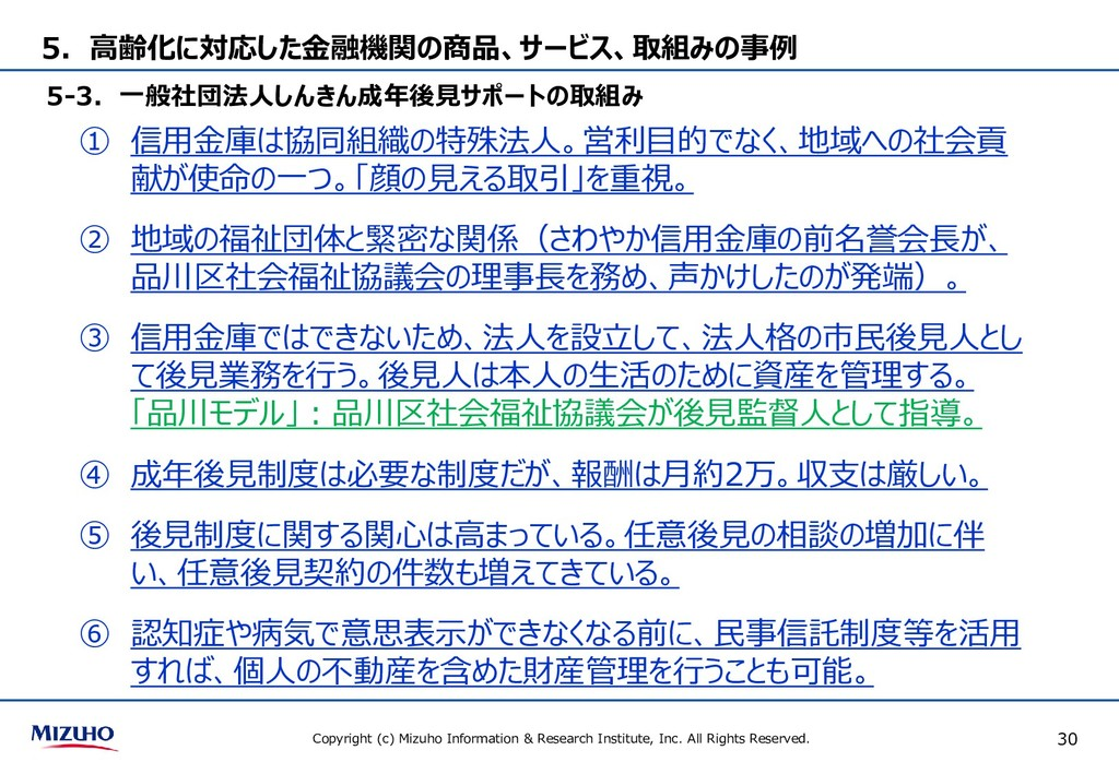 Copyright (c) Mizuho Information & Research Ins...