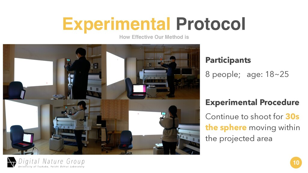 10 Experimental Protocol How Effective Our Meth...