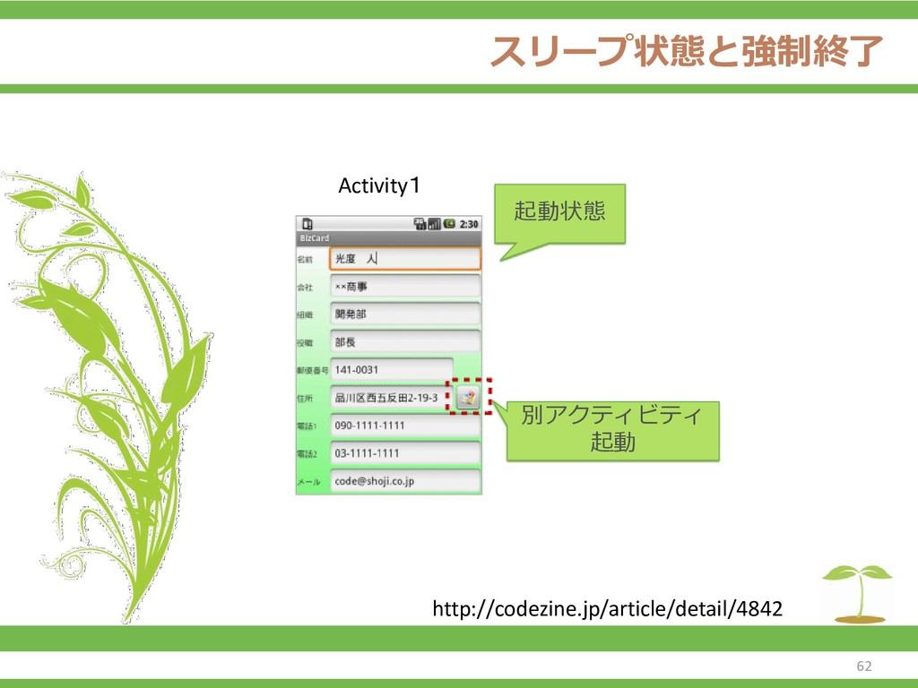 スリープ状態と強制終了 62 http://codezine.jp/article/detai...