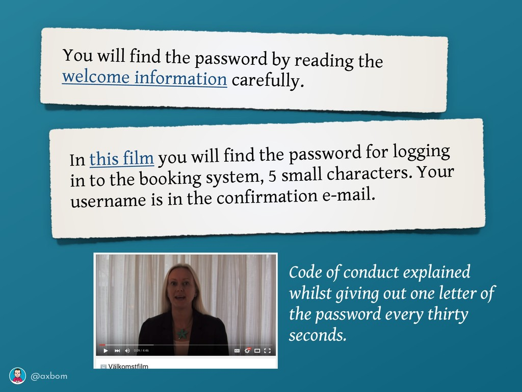 @axbom You will find the password by reading th...
