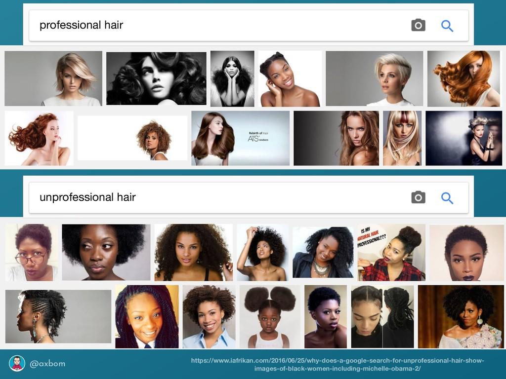 @axbom professional hair unprofessional hair ht...