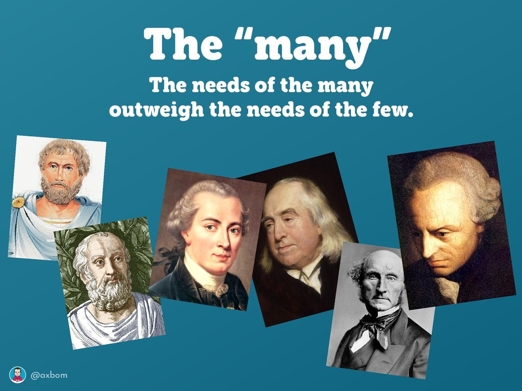 """@axbom The """"many"""" The needs of the many outweig..."""