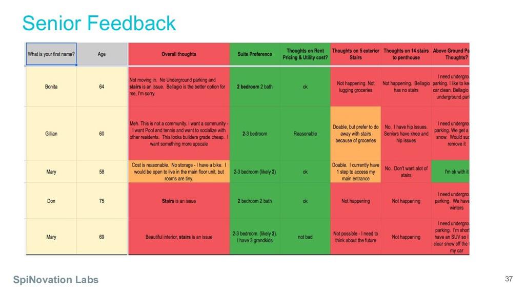 SpiNovation Labs Senior Feedback 37