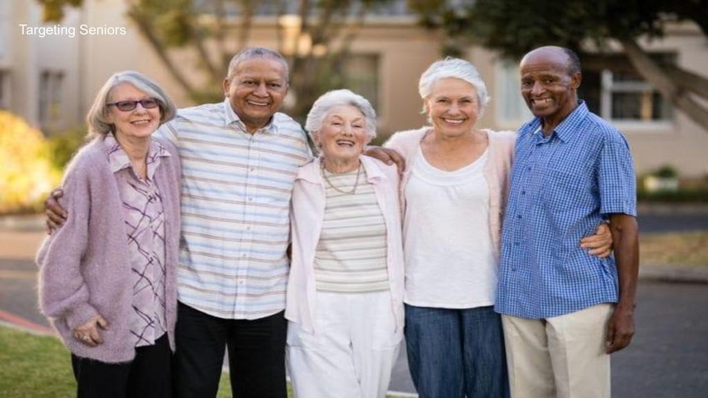 SpiNovation Labs 9 Targeting Seniors