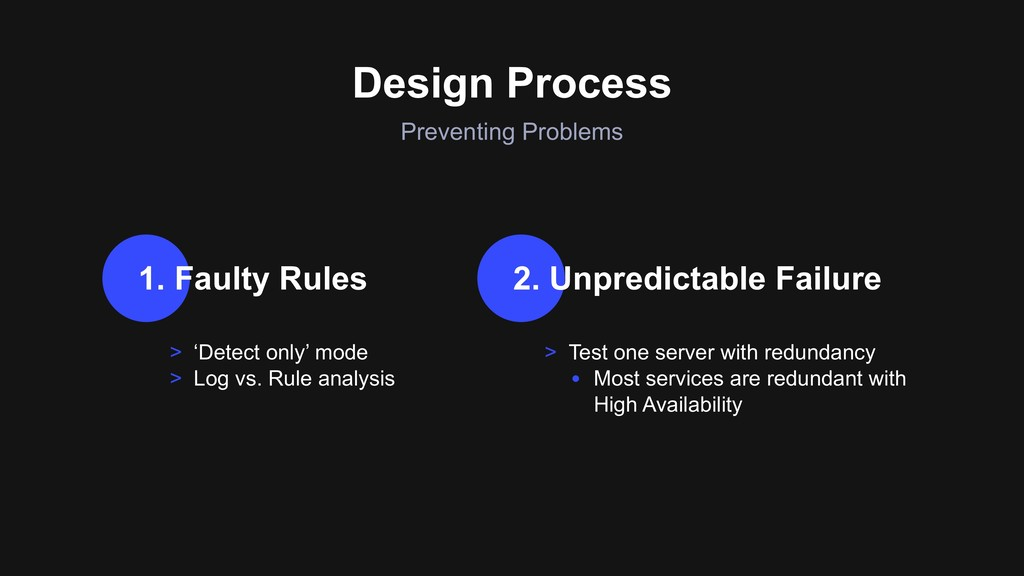 Preventing Problems Design Process > 'Detect on...