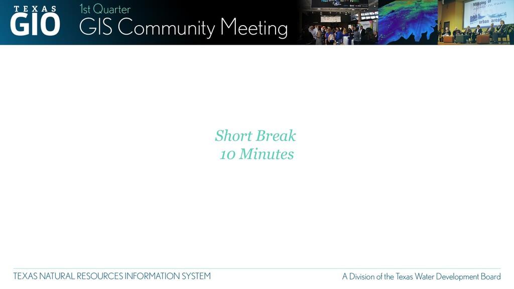 Short Break 10 Minutes