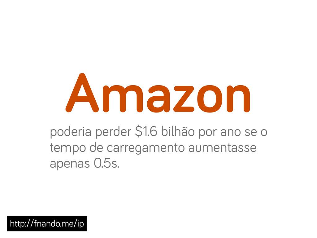 Amazon poderia perder $1.6 bilhão por ano se o ...