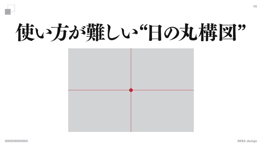 DERA-design 15 ͍ํ͕͍͠lͷؙߏਤz