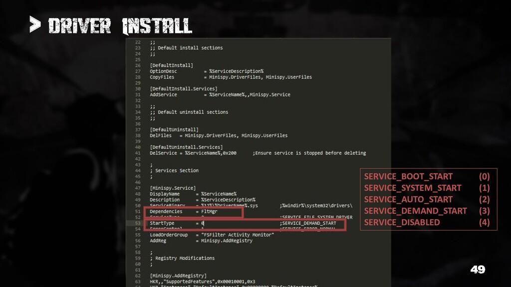 > SERVICE_BOOT_START (0) SERVICE_SYSTEM_START (...