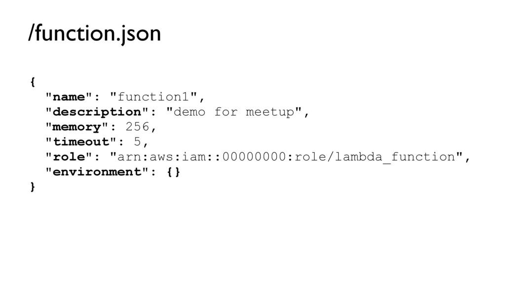 "{ ""name"": ""function1"", ""description"": ""demo for..."