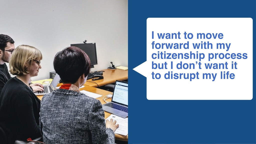 I want to move forward with my citizenship proc...