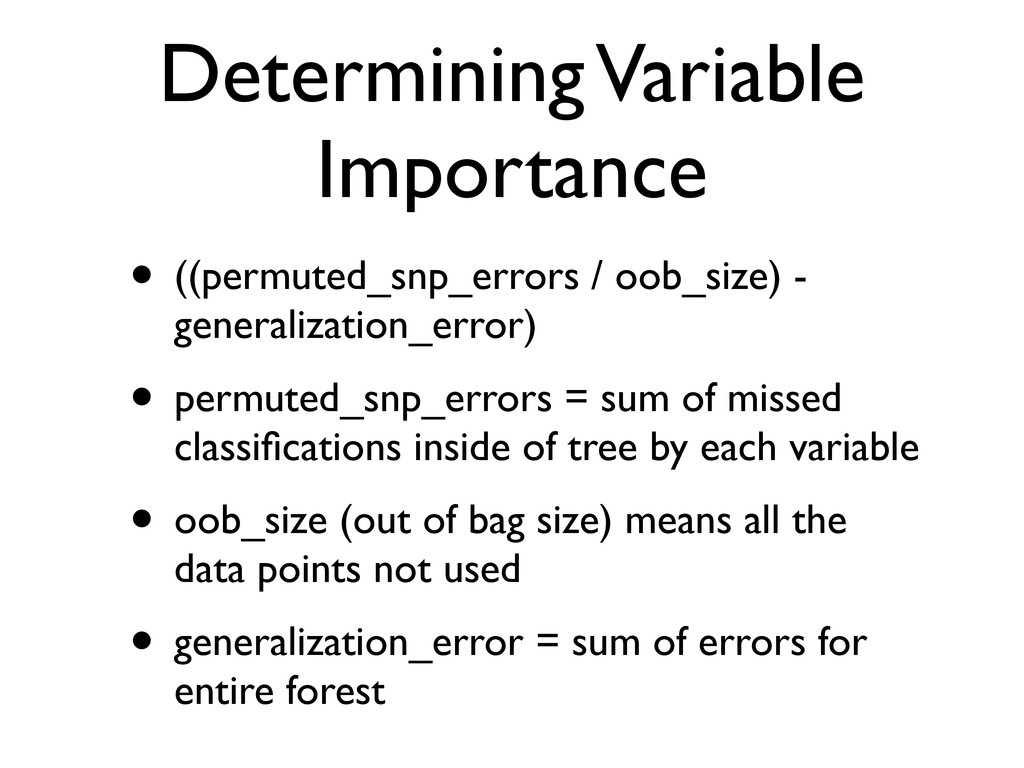Determining Variable Importance • ((permuted_sn...