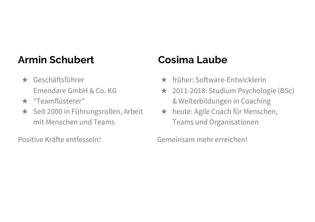 Armin Schubert ★ Geschäftsführer Emendare GmbH ...