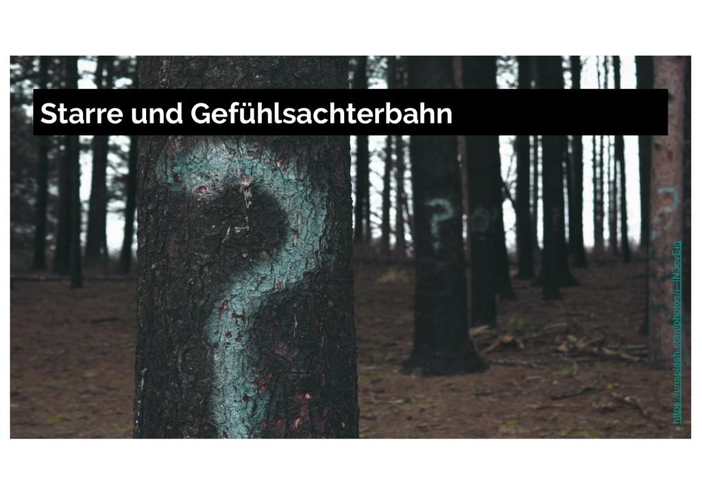 Starre und Gefühlsachterbahn https://unsplash.c...