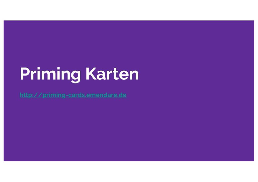 Priming Karten http://priming-cards.emendare.de