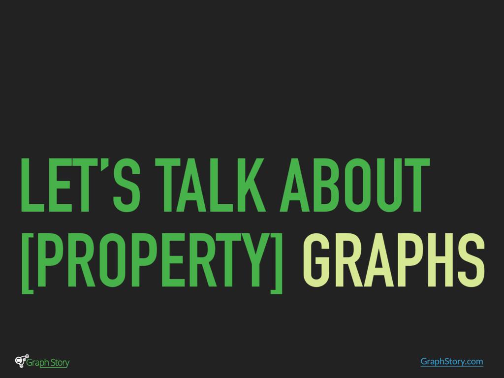 GraphStory.com LET'S TALK ABOUT [PROPERTY] GRAP...