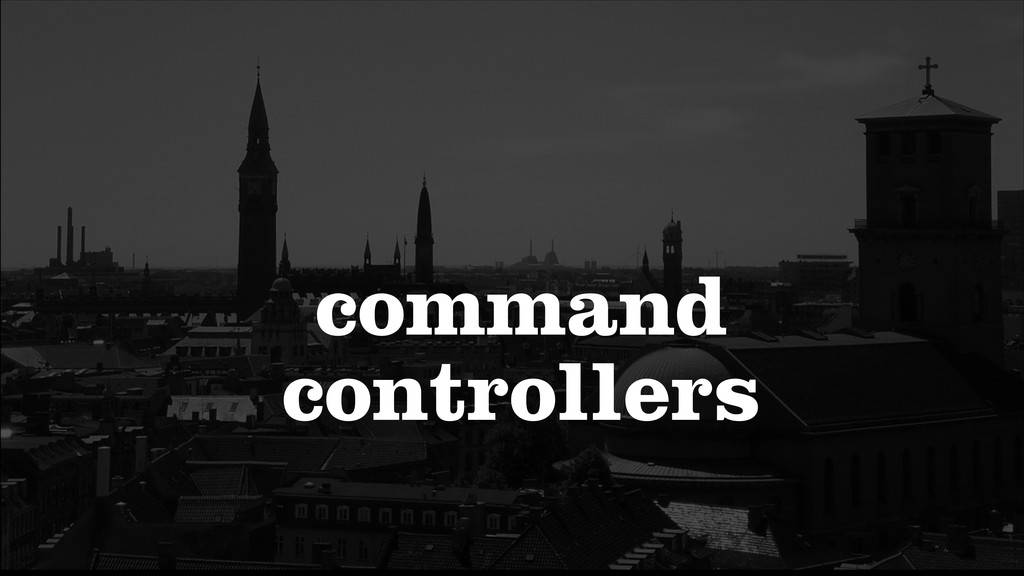 command controllers