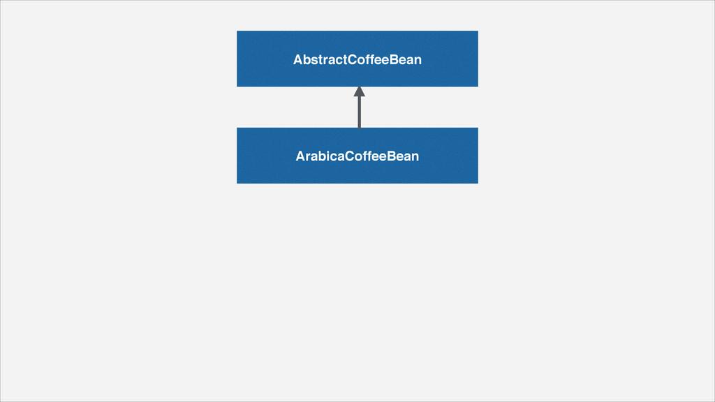 AbstractCoffeeBean ArabicaCoffeeBean