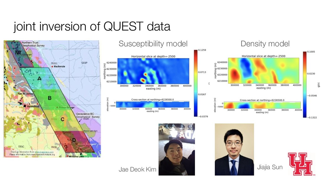 joint inversion of QUEST data Susceptibility mo...
