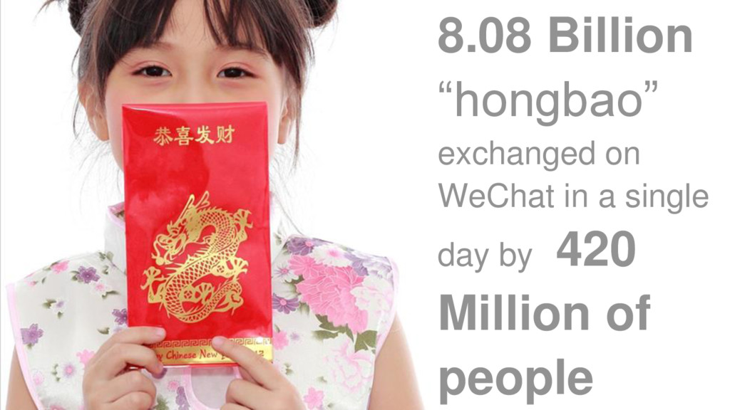 "8.08 Billion ""hongbao"" exchanged on WeChat in a..."