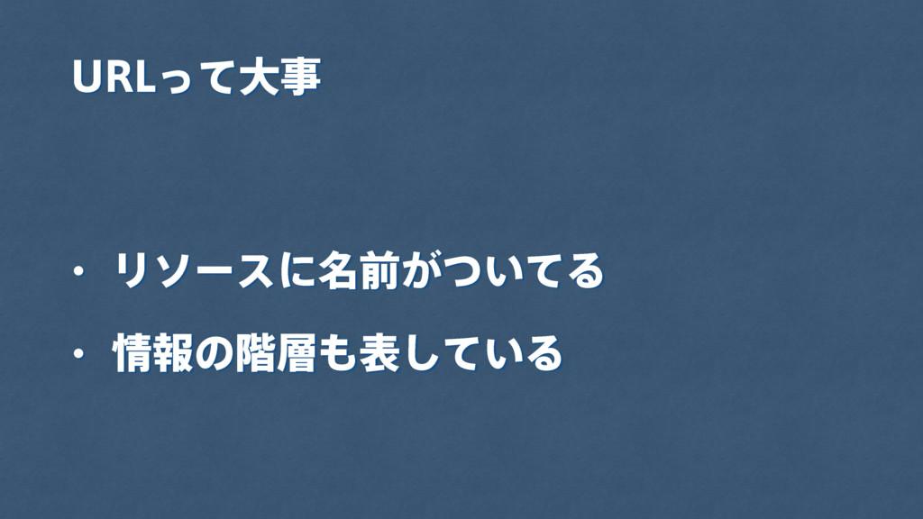 63-ͬͯେ w Ϧιʔεʹ໊લ͕͍ͭͯΔ w ใͷ֊ද͍ͯ͠Δ