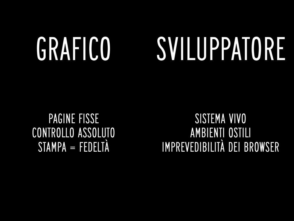 GRAFICO SVILUPPATORE PAGINE FISSE CONTROLLO ASS...