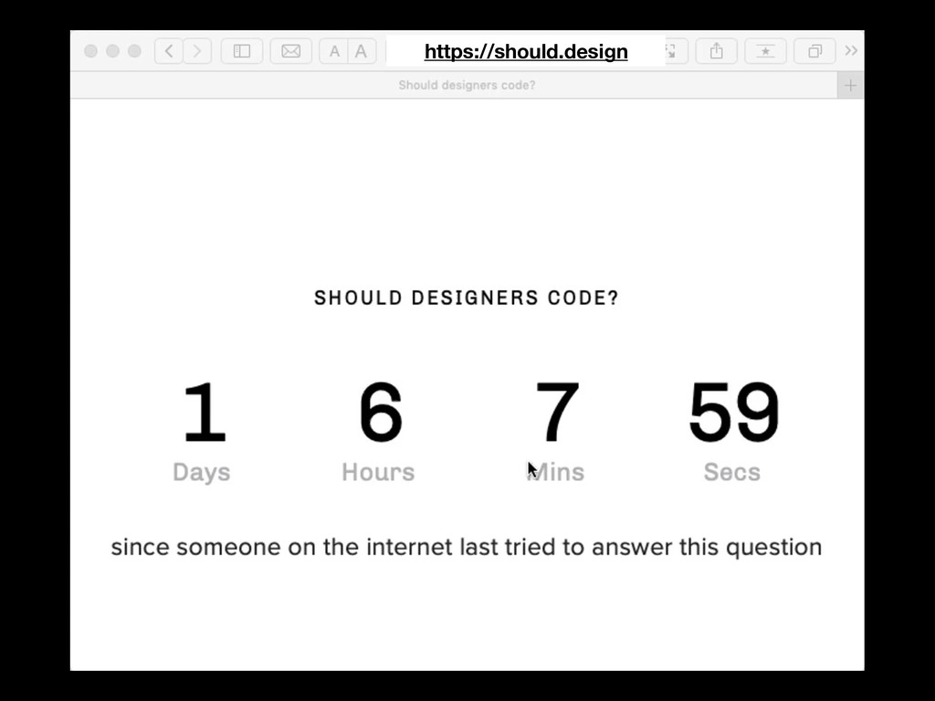 https://should.design