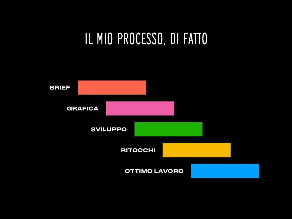 BRIEF IL MIO PROCESSO, DI FATTO GRAFICA SVILUPP...
