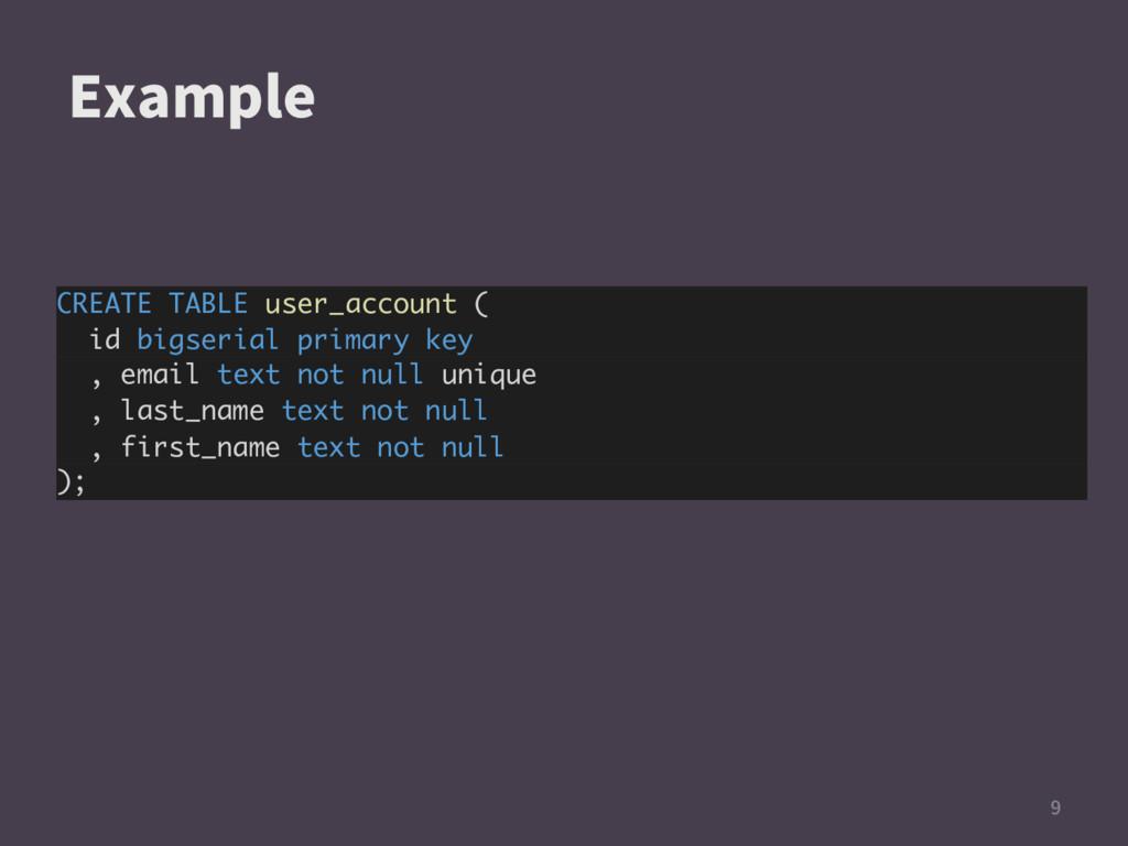 &YBNQMF  CREATE TABLE user_account ( id bigs...