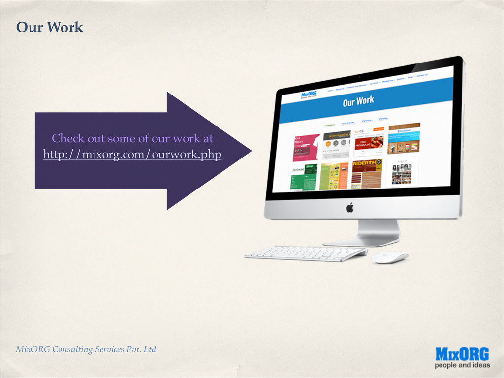 MixORG Consulting Services Pvt. Ltd. Our Work C...