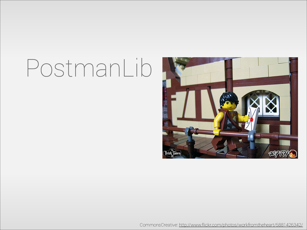 PostmanLib CommonsCreative: http://www.flickr.c...