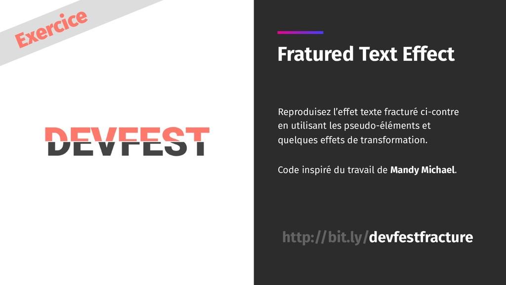 Fratured Text Effect Reproduisez l'effet texte ...