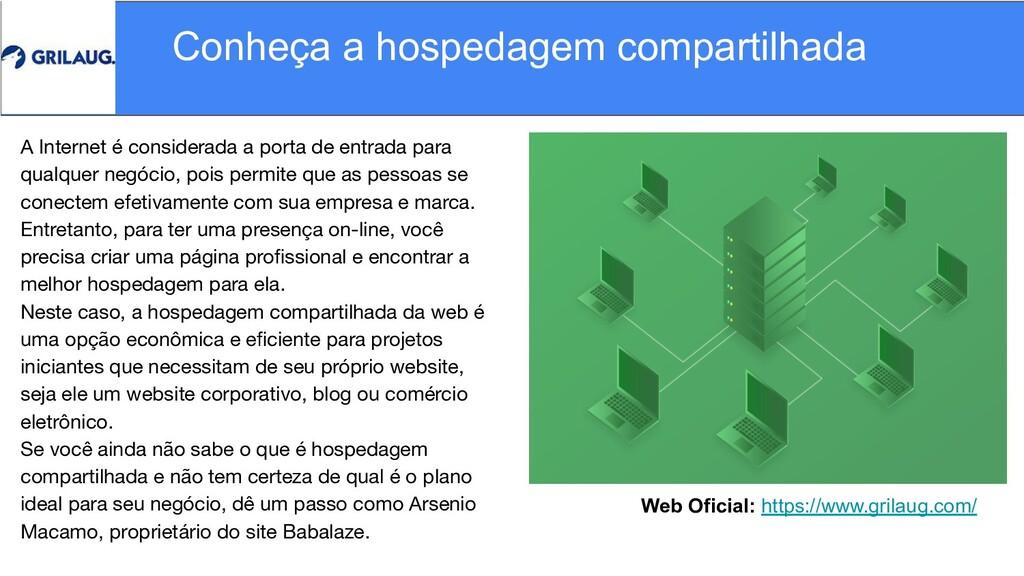 Web Oficial: https://www.grilaug.com/ Conheça a...