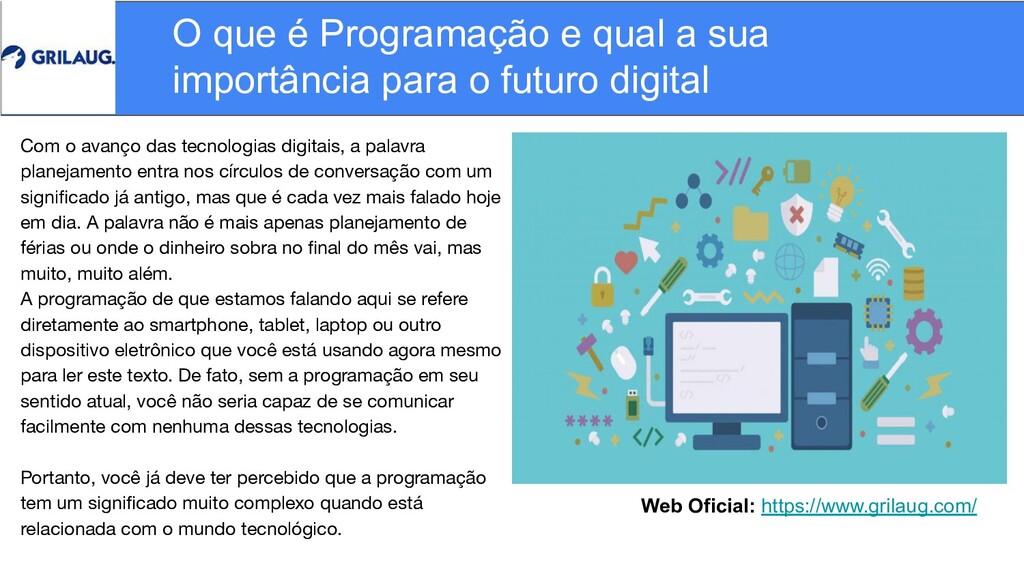 Web Oficial: https://www.grilaug.com/ O que é P...